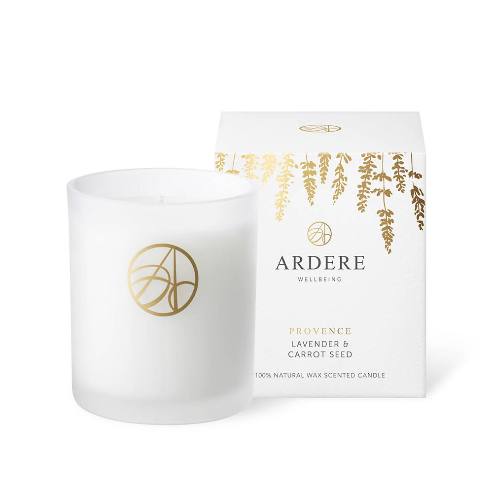 PROVENCE CANDLE - LAVENDER & CARROT SEED
