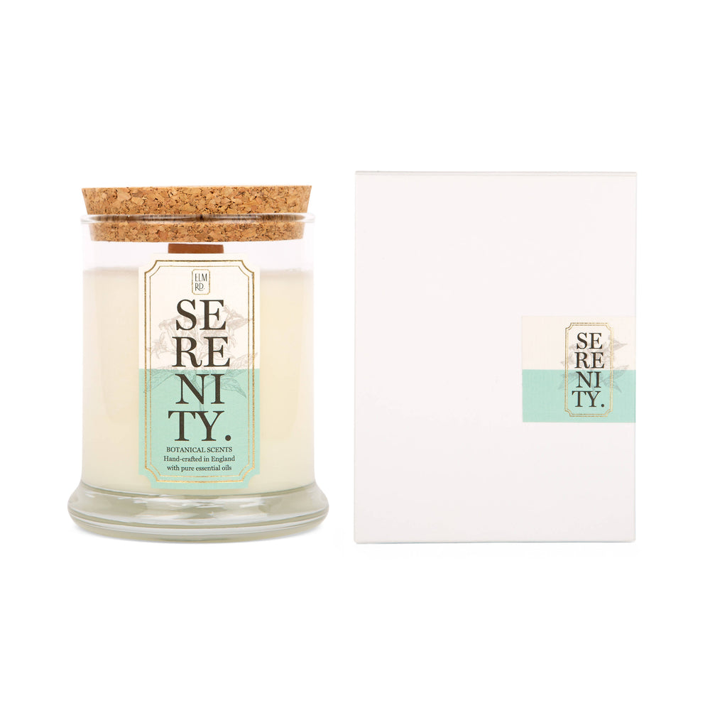 SERENITY AROMATHERAPY SCENTED CANDLE