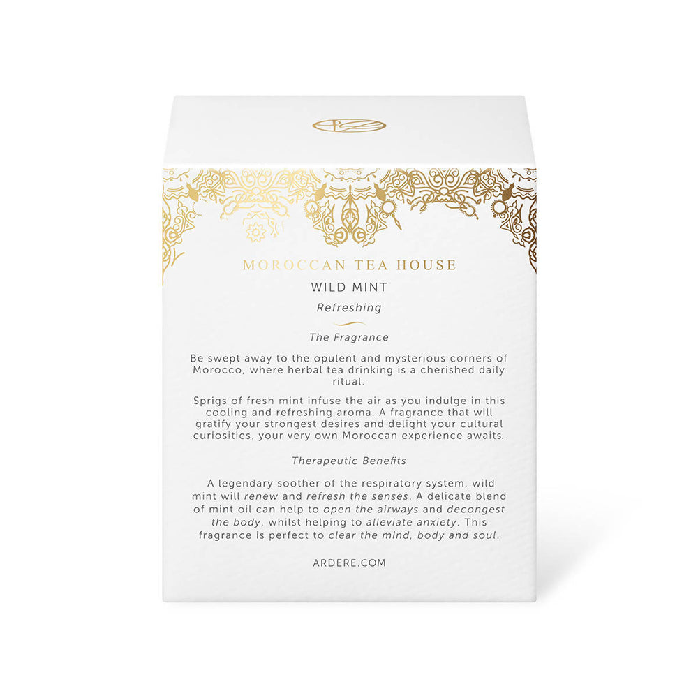 MOROCCAN TEA HOUSE CANDLE - WILD MINT