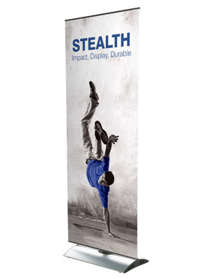 Stealth Tension Banner - DWJ Display