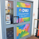 Printed Contravision Window Graphics - DWJ Display
