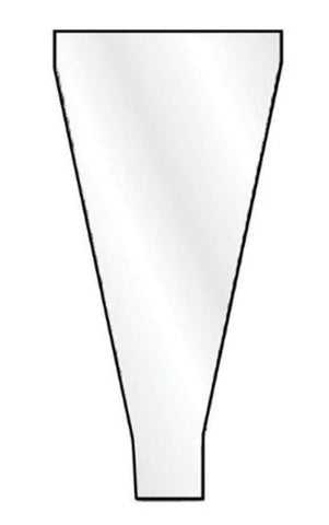 "End Cone, Extra Long, 20"", Disposable - 20/pk"