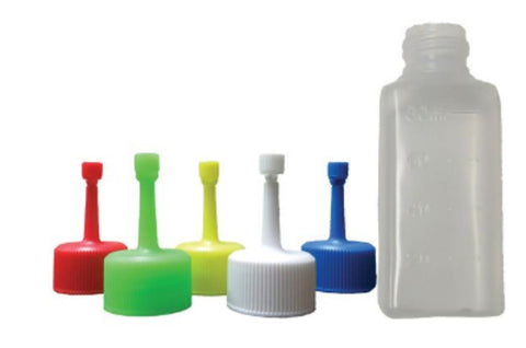 Semen Bottles & Caps, Square (600/case)