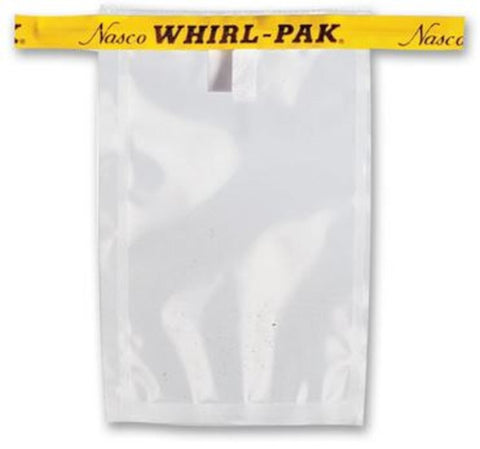 WHIRL-PAK BAG:   2 oz  Write-On