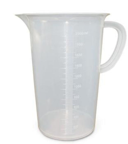 Plastic Beaker 5000ml w/Handle