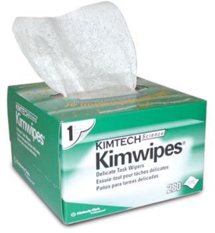 "KIM WIPES, 4.4"" x 8.4""  280/box"