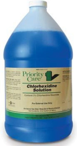CHLORHEXIDINE SOLUTION - 1 gal