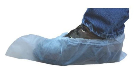 Treader® Disposable Shoe Covers - Plastic, 100/box