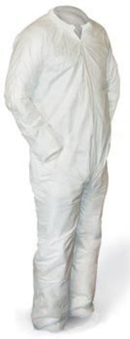 POLYPROPYLENE COVERALL - LARGE