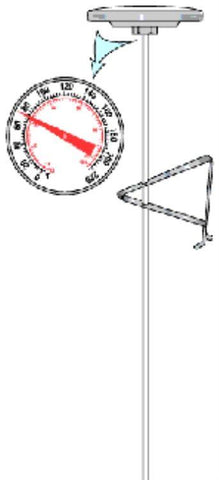 THERMOMETER,PLAIN  F or P
