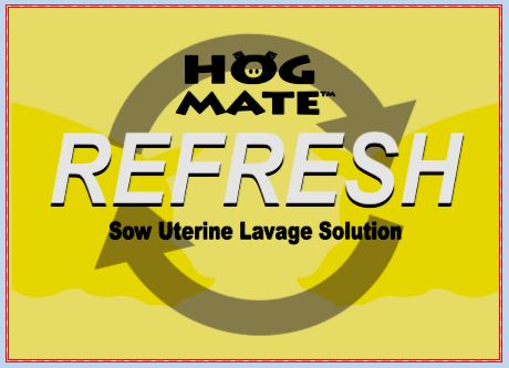 REFRESH Sow Uterine Lavage Solution - Hog Mate
