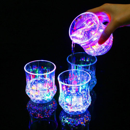 Party LED Glass Light Cocktail Drinking Glass