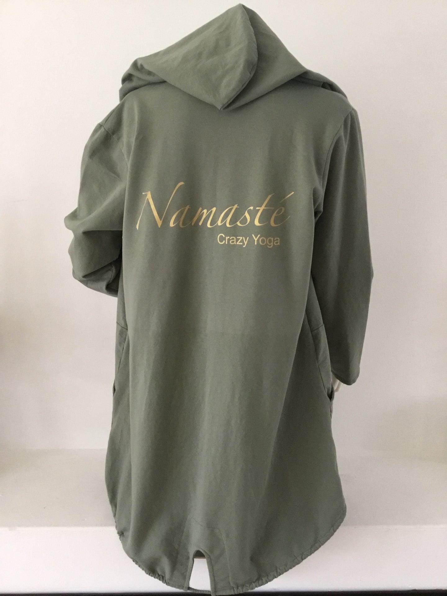 Long cardigan  Namasté - army