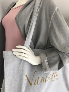 Long Cardigan Namasté - grey