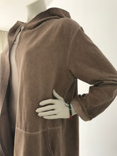 Afbeelding in Gallery-weergave laden, Long Cardigan Namasté - washed brown