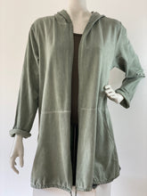 Afbeelding in Gallery-weergave laden, Long cardigan Ohm - army  NEW