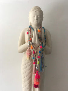 Buddha Necklace - Blue