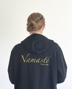Long Cardigan Namasté - black