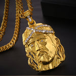 Gold Plated Jesus Necklace