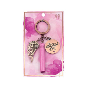 Beautiful Soul Keychain - You Are An Angel-Gift a Little gift shop