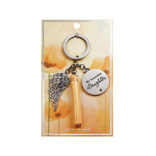 Load image into Gallery viewer, My Beautiful Daughter Keychain - You Are An Angel