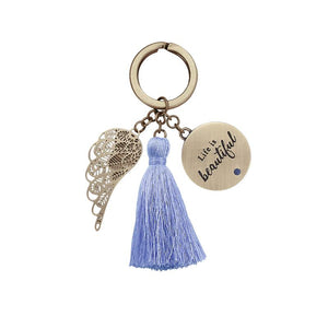 Life Is Beautiful Keychain - You Are An Angel