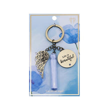 Load image into Gallery viewer, Life Is Beautiful Keychain - You Are An Angel