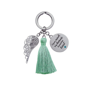 Open Mind Keychain - You Are An Angel