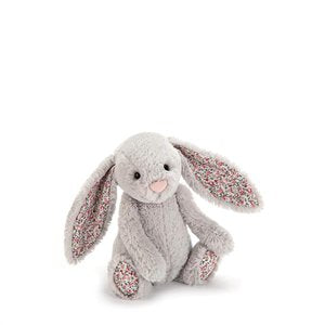 Jellycat Blossom Bashful Silver Bunny Small-Gift a Little gift shop