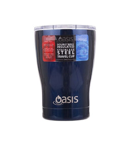 Oasis S/S double wall insulated Travel cup 340ml - Gift a Little gift shop