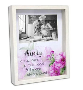 Magic moments photo frame 6x4 aunty-Gift a Little gift shop