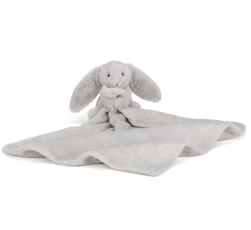 Jellycat Bashful Silver Bunny Soother-Gift a Little gift shop