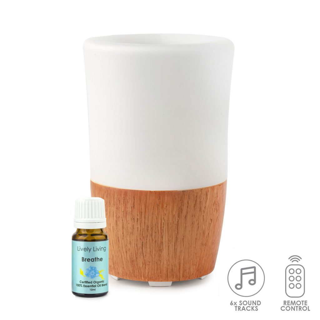 Aroma Sound diffuser with free Breathe oil - Gift a Little gift shop