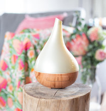 Load image into Gallery viewer, Aroma Bloom diffuser - colour changing lights - Gift a Little gift shop
