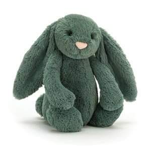 Jellycat Bashful Forest Green Bunny Medium-Gift a Little gift shop