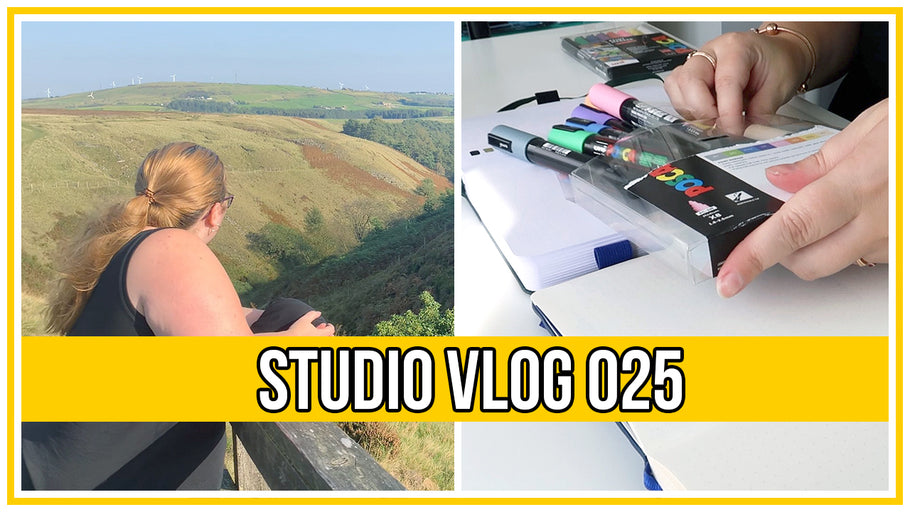 Studio Vlog - Getting creative and enjoying some self care plus outdoor adventures and injuries!