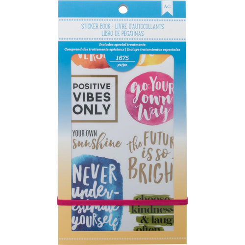 American Crafts inspirational planner sticker book - Paper Dream