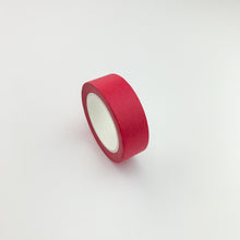 Load image into Gallery viewer, Bright pink solid colour washi tape side