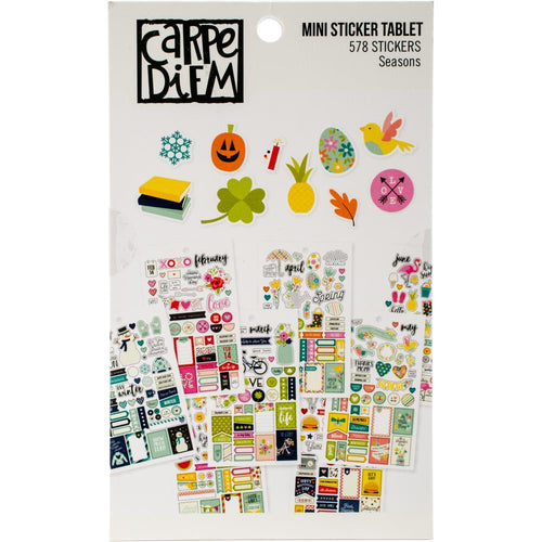 Carpe Diem Seasons Mini Sticker Book - Paper Dream