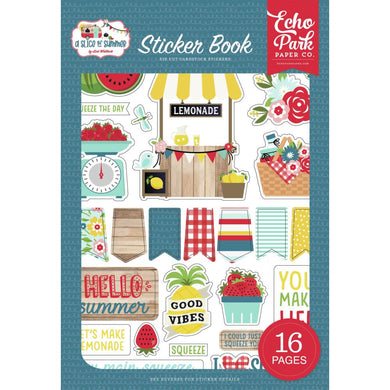 Echo Park Paper Co Slice of Summer Card Stock Sticker Book - Paper Dream