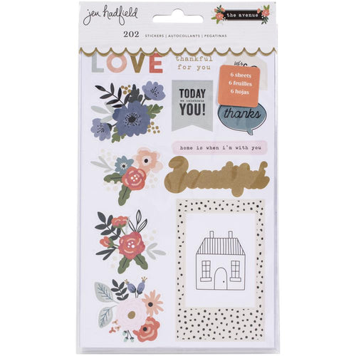 Jen hadfield the avnue sticker book american crafts - Paper Dream