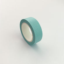 将图片加载到图库查看器,Light Blue solid colour washi tape side