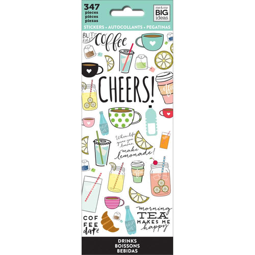 Me And My Big Ideas Drinks Planner Sticker Book - Paper Dream
