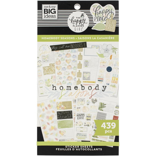 Me And My Big Ideas Homebody Seasonal Planner Sticker Book - Paper Dream