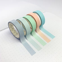 Load image into Gallery viewer, macaron breeze washi tape set