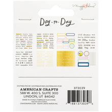 Charger l'image dans la galerie, Maggie Holmes Day-To-Day Planner Mini Sticker Book Back - Paper Dream