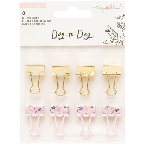 Maggie Holmes day-to-day binder clips american crafts