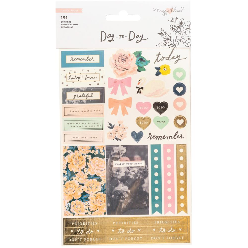 Maggie Holmes day to day icons planner sticker book american crafts - Paper Dream