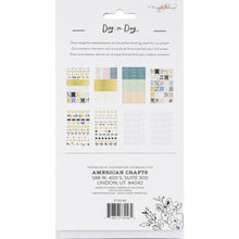 Load image into Gallery viewer, Maggie Holmes day to day phrase planner sticker book back american crafts