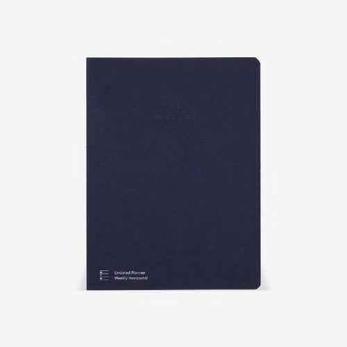 Mossery Light Half Year UNDATED Horizontal Weekly Planner Thread Bound Refill - Paper Dream